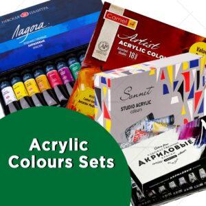 Acrylic Colours Sets